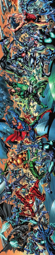 Justice League of America by Bryan Hitch *
