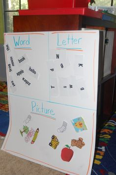 Pre-K Sorting Activity {With Printable}
