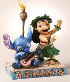 Fantasies Come True - Disney collectibles and memorabilia - 'Ohana Means Family' (Jim Shore) - Lilo Stitch