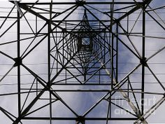 Power Up © Richard Reeve Photography. More available on richard-reeve.artistwebsites.com [Please only repin with this credit text] #abstract #pylon #power #square #RichardReeve