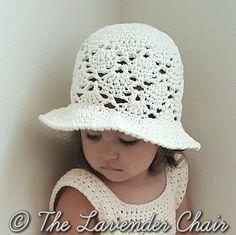 Ravelry: Vintage Sun Hat pattern by Dorianna Rivelli