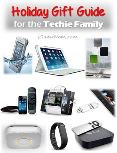 Holiday Gift Guide for Techie Family - iGameMom