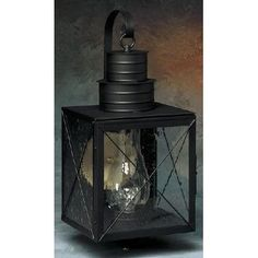 Brass Traditions 200 Series 1 Light Outdoor Wall Lantern Finish: Painted Black