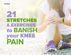 Exercise Increase flexibility, prevent injury and banish knee pain for good! - Increase flexibility, prevent injury and banish knee pain for good! Arthritis Exercises, Knee Arthritis, Knee Strengthening Exercises, Flexibility Exercises, How To Strengthen Knees, Knee Pain Relief, Bad Knees, Hip Problems, Health
