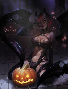 Halloween 'Eve' by krysdecker