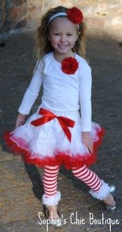 Christmas outfit pettiskirt