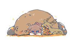 Anime Chibi, Anime Art, Cute Pigs, Haikyuu, Roronoa Zoro, Cute Comics, Manga Boy, Slayer Anime, Anime Demon