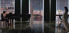 El apartamento de '50 sombras de Grey' - http://www.decoora.com/el-apartamento-de-50-sombras-de-grey.html