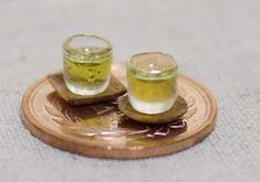 Miniature green tea. 緑茶