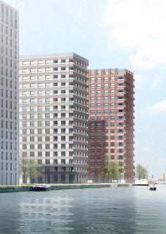 Westkaai Towers 5 & 6 by Tony Fretton Architects