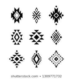 Similar Images, Stock Photos & Vectors of Navajo print, Aztec pattern, Tribal design elements - 482420068 Similar Images, Stock Photos & Vectors of Navajo Print Aztec Pattern Tribal Design - 482420068 Native American Patterns, Native American Symbols, Native American Design, Pattern Wall, Print Pattern Design, Tribal Print Pattern, Armband Tattoos, Motifs Aztèques, Aztec Designs