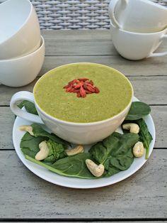Smoothie Recipe: Goji Green Tea Smoothie with Matcha Powder