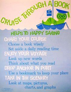 RETRO POSTER - Cruise Through a Book by Enokson, via Flickr