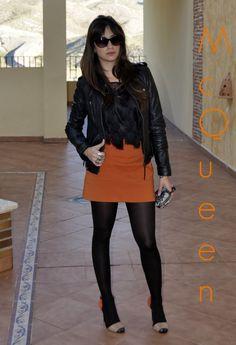 Look McQueen! , Zara in Shirt / Blouses, Zara in Skirts, Zara in Gladiators, Alexander Mcqueen in Clutches