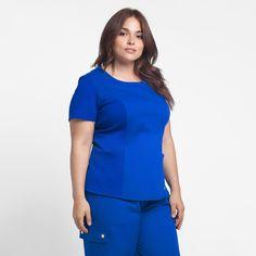Modern Scrubs and Lab Coats for Men and Women by Jaanuu Spa Uniform, Nurse Costume, Medical Uniforms, Nursing Clothes, Scrub Tops, Asian Beauty, Scrubs, Work Wear, Peplum Dress
