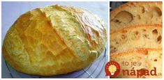 Fantastický recept na úplne jednoduchý domáci chlebík bez miesenia. Večer zamiešate a ráno len dáte na pekáč a šup do rúry. Výborný recept.Potrebujeme:3 hrnčeky (1 hrnček -2.5 dcl) múka hladká (1 hrnček môžete zameniť za … Bread Recipes, Graham, Recipies, Recipes, Bakery Recipes