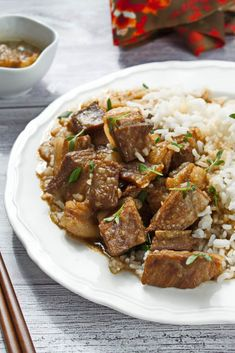 This Recipe for Okinawa Shoyu Pork Produces the Sweetest and Most Tender Pork Belly You Could Imagine. While I'm not a Vegetarian, I Rarely Cook Meat at. Diced Pork Recipes, Pork Roast Recipes, Pork Tenderloin Recipes, Slow Cooker Recipes, Shoyu Pork Recipe, Okinawa, Indian Food Recipes, Asian Recipes, Healthy Recipes
