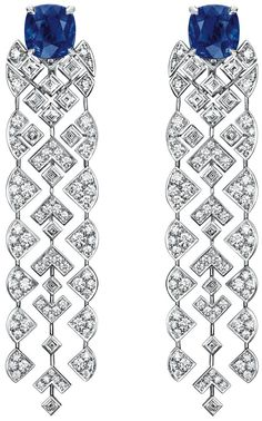 """Signature De Saphir"" #Earrings from #SignatureDeChanel ~January 2016"