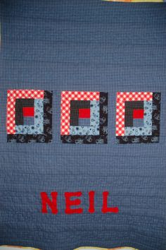 Quilt back by Mary Kelly