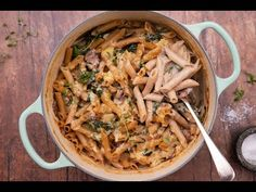 What's better than a quick and easy pasta? A one pot creamy pasta bake that has cheese and red wine. Don't worry… there will be enough wine leftover for the cook to enjoy a glass (or two). Creamy Pasta Bake, One Pot, Red Wine, Cheese, Cook, Fresh, Baking, Diamond, Glass