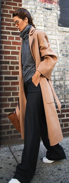 OVERSIZED but no indeed SLOPPY. Just another version of Fall dressing