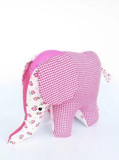 בובת פיל עומד בוורודים | galyafabricdolls Backrest Pillow, Fabric Dolls, Dinosaur Stuffed Animal, Pillows, Toys, Animals, Rag Dolls, Bed Pillows, Animales