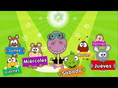 Los dias de la semana canción para niños - YouTube
