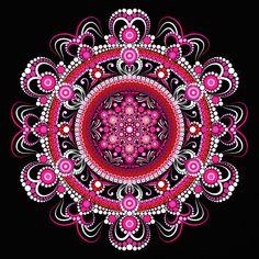 Vintage Printable Wall Art, Botanical Art Home Decor by BurleyStreetVintage Dot Art Painting, Mandala Painting, Mandala Drawing, Mandala Canvas, Mandala Dots, Mandala Design, Mandala Art Lesson, Pebble Art, Stone Art