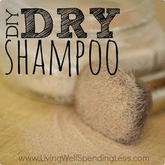 DIY Dry Shampoo Recipe | How to Make Your Own Dry Shampoo