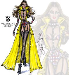 Victoria's Secret 2014 collection by Hayden Williams 'Perfectly Punk'