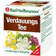 BAD HEILBRUNNER Tee Verdauung Filterbeutel:   Packungsinhalt: 8 St Filterbeutel PZN: 04836847 Hersteller: Bad Heilbrunner…