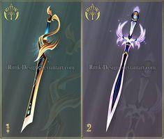 (OPEN) Shurikens adopts 9 by Rittik-Designs on DeviantArt Fantasy Sword, Fantasy Art, Monster High Mermaid, Elemental Magic, Cool Swords, Sword Design, Anime Weapons, Art Corner, Weapon Concept Art