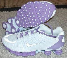 Nike Shox TLX White Purple