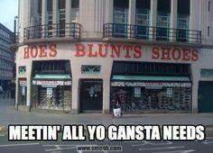 Hoes Blunts Shoes