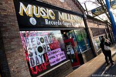 Music Millennium, best record shop in the entire Northwest!