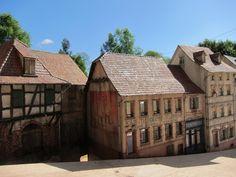 Diorama. European scene.