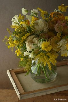 Flower Arrangements Simple, Vase Arrangements, Flower Vases, Flower Pots, Green Flowers, Cut Flowers, Beautiful Flowers, Flowers For Algernon, Sogetsu Ikebana