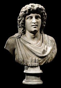 A ROMAN MARBLE BUST OF ALEXANDER HELIOS                                                                                                                                                                       CIRCA 1ST CENTURY A.D.