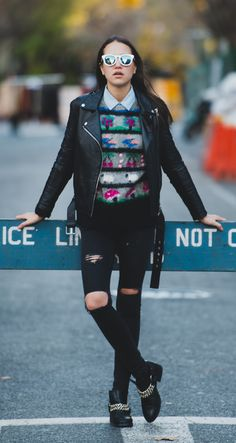 Women's vegan leather cropped motorcyle jacket with silver hardware, zipper and detailing from Nasty Gal via Wheretoget