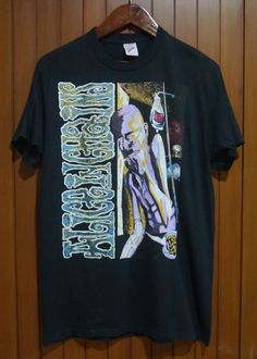vintage 1992 90s ALICE IN CHAINS Dirt SICKMAN GRUNGE t-shirt nirvana sonic youth