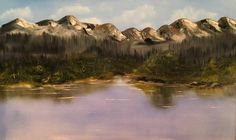 Oil on canvas - 100 x 60 cm Oil On Canvas, Paintings, Mountains, Nature, Travel, Naturaleza, Viajes, Paint, Painting Art
