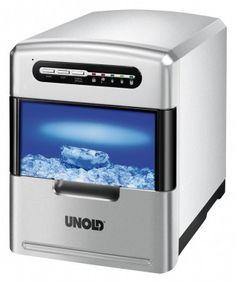 Unold Eiswürfelbereiter – 140 Watt automatische Eismaschine: http://cocktail-glaeser.de/barzubehoer/eis-crusher/unold-48946-eiswuerfelbereiter-140watt-eismaschine-verschiedene-eiswuerfelgroessen/