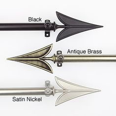 magical thinking arrow finial set | magical thinking