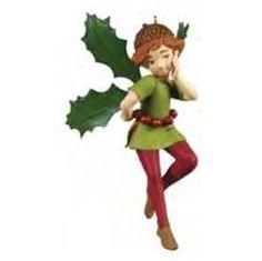 Fairy Messenger Holly Fairy Hallmark Ornament