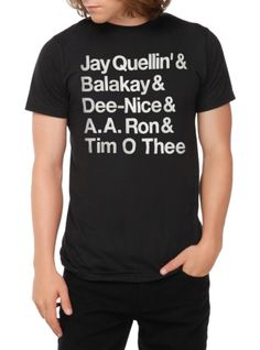 Key & Peele Student Names T-Shirt | Hot Topic... I so want this!