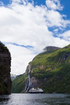 For a unique summer vacation idea, try a cruise in the Norwegian fjords.