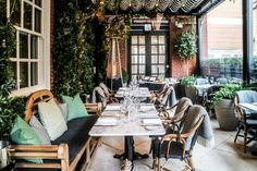 London's Best Restaurants with Outdoor Space