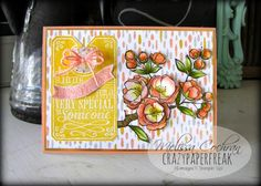 Stampin' Up! Indescribable Gift, Chalk Talk, crazypaperfreak