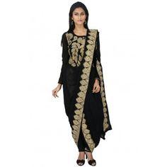 Khada Dupatta drape