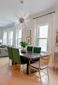 CURTAINS?  How to Create a Home That's Cool But Not Delicate Open Space for living